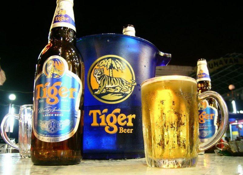 tiger beer singapore