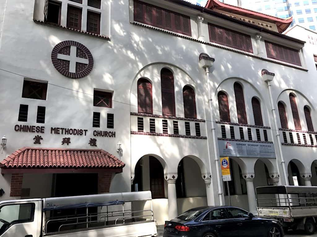 methodist church in singapore